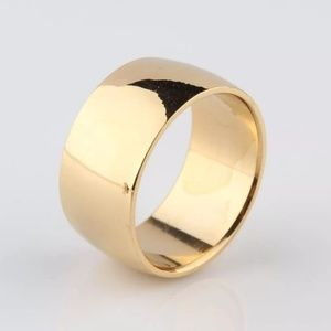 Jewelry - 8mm Yellow Gold Band Mejuri Luxe Bijoux